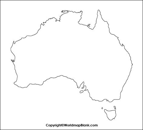 Transparent PNG Australia Map