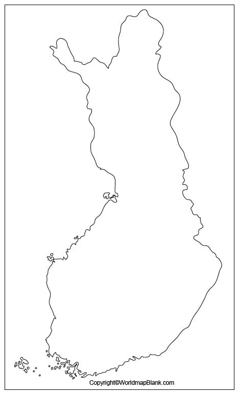Transparent PNG Finland Map