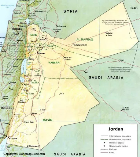 Labeled Jordan Map with Capital