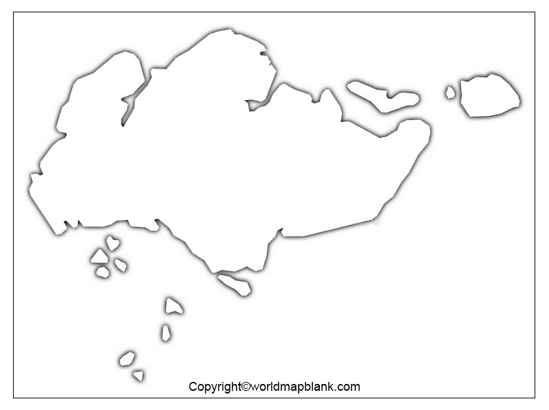 Map of Singapore for Practice