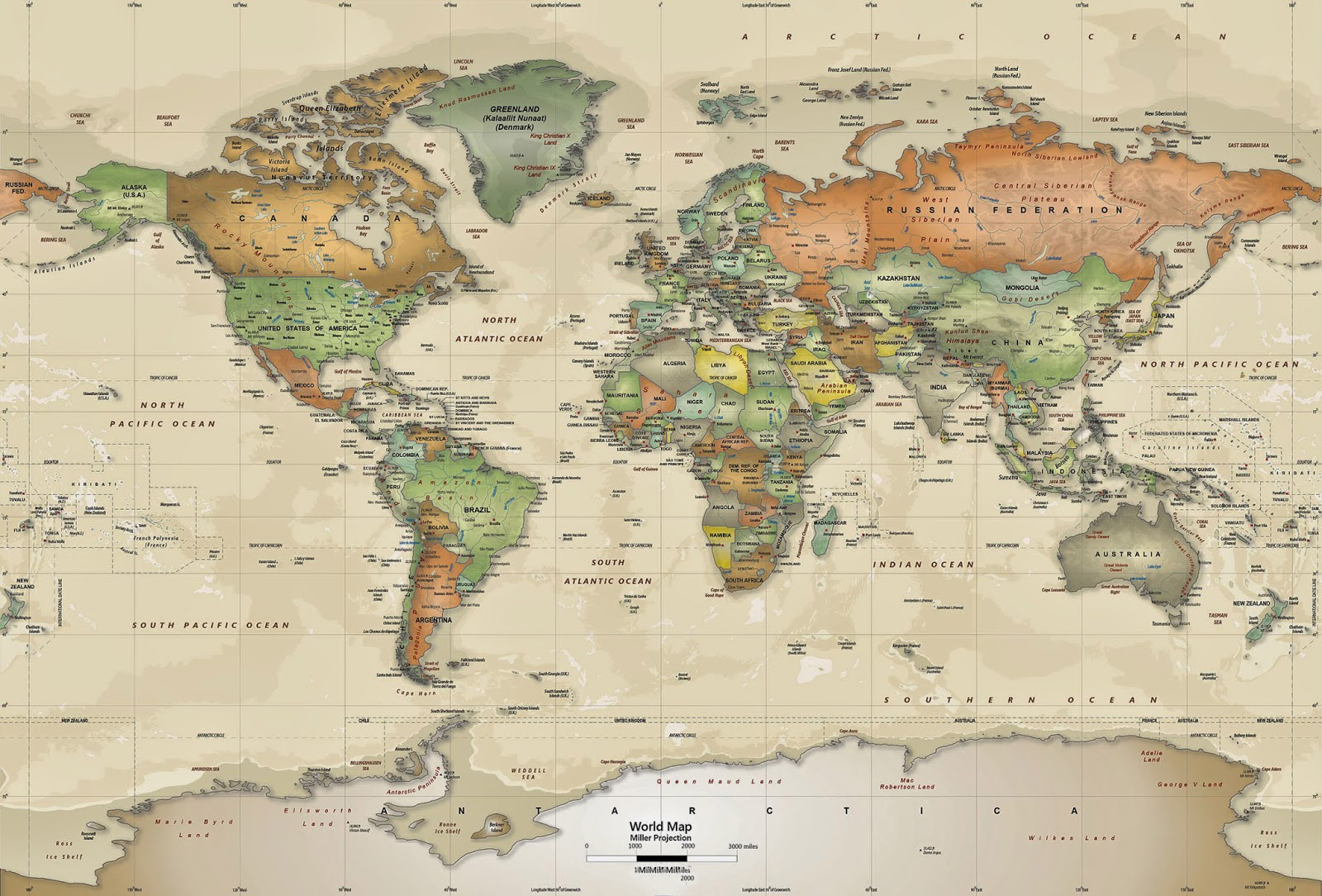world map poster template
