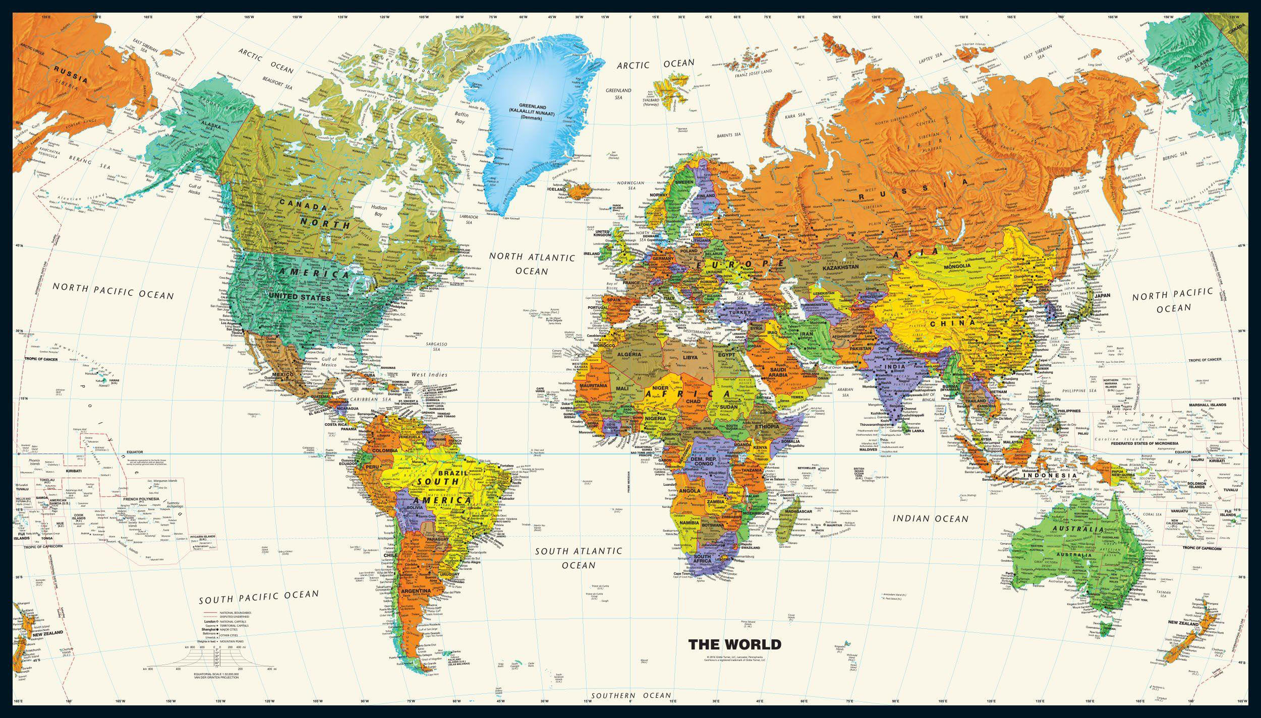 World Map Wallpaper free