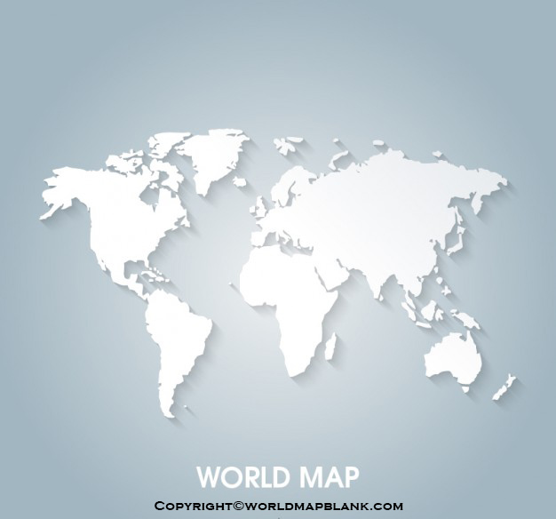 World Map Vector with Country Names